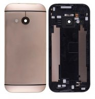 Back Cover Housing with Camera Lens and Volume Button for HTC One Mini 2(for htc) - Gold