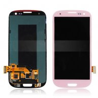 For Samsung Galaxy S3 III I9300 I535 I747 L710 T999 LCD Assembly with Touch Screen Digitizer - Pink