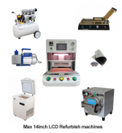 Full Set LCD Refurbish machines for Max 10inch Professional 4 in 1