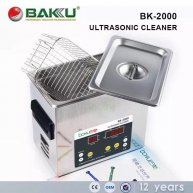 BK-2000 Stainless Steel Digital Ultrasonic Cleaner Cleaning Machine