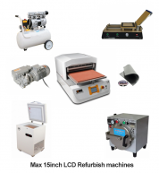 Full Set LCD Refurbish machines for Max 15inch Professional 4 in 1