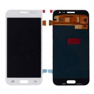 LCD Screen Display with Digitizer Touch Panel for Samsung Galaxy J2 - White