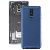 Back Cover with Side Keys & Camera Lens for Samsung Galaxy A6+ / A605(Blue)