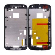 Front Housing with Bezel Frame for Motorola Moto G2 XT1063/ XT1064/ XT1068 - Black
