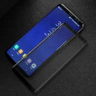 For Samsung Galaxy S9 0.3mm 9H Surface Hardness 3D Full Screen Tempered Glass Screen Film(Black)