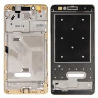 For Huawei Honor 5X Front Housing LCD Frame Bezel Plate(Gold)
