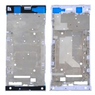 For Sony Xperia XA1 Ultra Front Housing LCD Frame Bezel Plate(White)