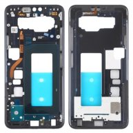 Front Housing LCD Frame Bezel Plate for LG V40 ThinQ (Black)