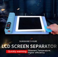 S-918E LCD Blue Screen Splitter Heating Stage Separator Pad For iPhone/iPad/Samsung etc.LCD Screen Separator Tool
