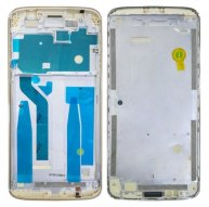 Front Housing LCD Frame Bezel for Motorola Moto E5