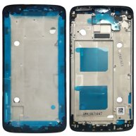Front Housing LCD Frame Bezel for Motorola Moto G6 (Black)