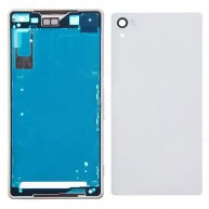 Complete Housing Cover Faceplate Part for Sony Xperia Z2 D6503 D6502 D6543 - White