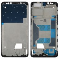 For OPPO R11s Front Housing LCD Frame Bezel Plate (Black)