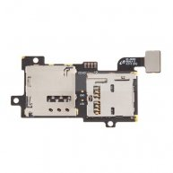 SIM Card Tray & Memory Card Holder Flex Cable Replace for Samsung Galaxy S III SGH-I747