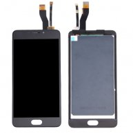 For Meizu M5 Note / Meilan Note 5 LCD Screen + Touch Screen Digitizer Assembly(Black)