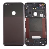 For Google Pixel / Nexus S1 Battery Back Cover(Black)