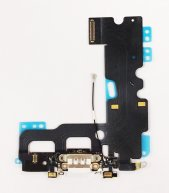 "Good Quality Charging Port with Flex Cable Microphone for iPhone 7 4.7""-White"