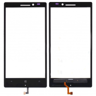Black Outer Touch Screen Digitizer Panel Glass Lens for Nokia Lumia 930 Parts