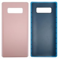 For Samsung Galaxy Note 8 Battery Back Cover with Adhesive(Pink)