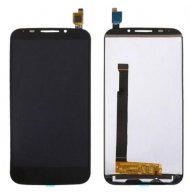 LCD Screen + Touch Screen Digitizer Assembly for Alcatel One Touch POP S7 / 7045 / OT7045 / 7045Y(Black)