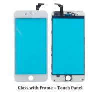 "High Quality Touch Screen with Frame For Iphone 6 Plus 5.5""-White"