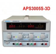 APS3005S-3D 3 Channels DC Power Supply Triple Output 0-30V/5A 5V/3A AC110-220V