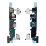 Charging Port with Flex Cable, Headphone Jack and Microphone for Samsung Galaxy A8 A8000(REV07)