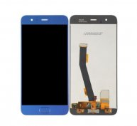 For Xiaomi Mi 6 LCD Screen + Touch Screen Digitizer Assembly with Home Button Flex Cable(Blue)