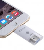128GB 2 in 1 Micro USB 2.0 & 8 Pin USB iDrive iReader Flash Memory Stick for iPhone 6 & 6s, iPhone 6 Plus & 6s Plus, Samsung Gal