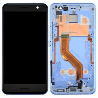 For HTC U11 LCD Screen + Touch Screen Digitizer Assembly with Frame(Blue)