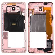 For Samsung Galaxy A9 / A9000 Middle Frame Bezel(Pink)