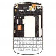 Full Housing Cover for BlackBerry Q10 -White