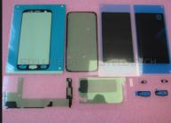 For SAMSUNG STICKERSET G930F GALAXY S7, GH82-11431A FULL ADHESIVE KIT INCL. LCD SET