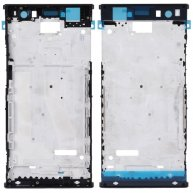 For Sony Xperia XA2 Ultra Front Housing LCD Frame Bezel Plate(Black)