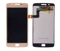 LCD Screen Display with Digitizer Touch Panel for Motorola Moto G5(for moto) - Gold