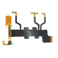 Power Button & Volume Button & Microphone Ribbon Flex Cable Replacement for Sony Xperia T2 Ultra Dual / XM50h / D5322