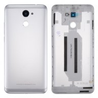 For Huawei Enjoy 7 Plus/Y7 Prime Battery Back Cover(Silver)
