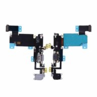 High Quality Charging Port with Flex Cable, Earphone Jack and Mic for iPhone 6S Plus(5.5 inches)