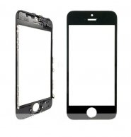 For Iphone 5S Front Glass Touch Screen Lens(High Quality) with Frame(High Quality)