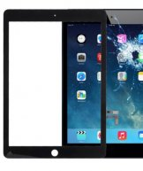High Quality Front Glass Lens For Ipad Air 2-Black
