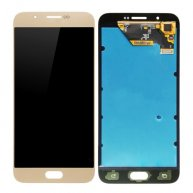 For Samsung Galaxy A8 / A8000 LCD Display + Touch Screen Digitizer Assembly(Gold)