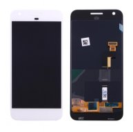 For Google Pixel / Nexus S1 LCD Screen + Touch Screen Digitizer Assembly (White)