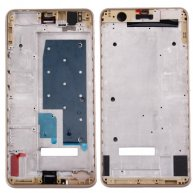 For Huawei Honor 6 Plus Front Housing LCD Frame Bezel(Gold)