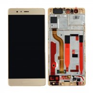Touch Screen Digitizer LCD Assembly With Frame For Huawei P9 Plus-Gold