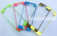 Plastic Touch Screen Digitizer Frame Bezel For iphone 5C without glue