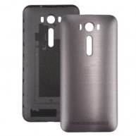 Brushed Texture Back Battery Cover for 5 inch Asus Zenfone 2 Laser / ZE500KL(Grey)