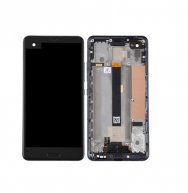LCD Screen and Digitizer Full Assembly with Frame for HTC U Ultra (Black)