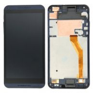 LCD Screen + Touch Screen Digitizer Assembly with Frame for HTC Desire 816(Dark Blue)