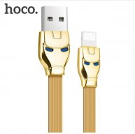 HOCO USB Cable for iPhone 8 Apple-Plug to USB Cable Fast Charger Data Cable For iPhone X 7 6 6s 5 5s iPad Cables-Gold