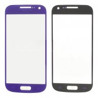 For Samsung i9190 Galaxy S4 mini Front Len Screen Glass Replacement - Purple